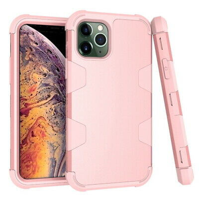 AU7.08 • Buy For IPhone 11 Pro Max XS XR 7 8 Rugged Hybrid Full Body Shockproof PC Case Cover
