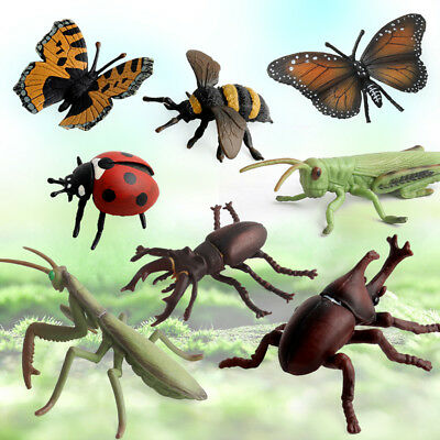 £12.78 • Buy Simulation Insect Bug Model Figures For Kids Nature Learning Toy 8pcs/set