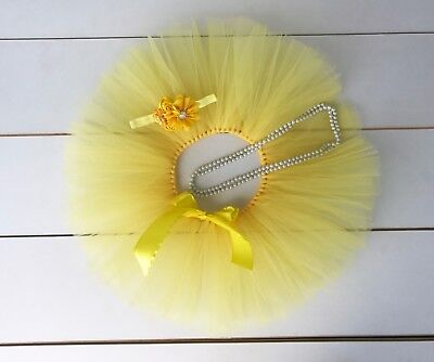 AU38 • Buy Cake Smash Outfit - First Birthday Tutu Set - Yellow - Baby Girl - Sunflower