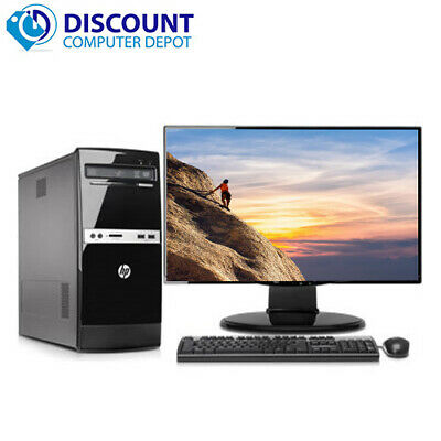 $ CDN725.51 • Buy Fast HP 500B Tower Computer PC C2D 4GB 250GB Windows 10 Home 17  WiFi Key Mouse
