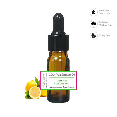 AU11.95 • Buy 100% Pure Lemon Essential Oil For Skin Care Diffuser Aroma Aromatherapy
