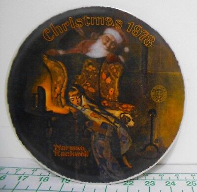 $ CDN32.87 • Buy Norman Rockwell  Christmas Dream  Christmas 1983 Plate - Limited Edition Knowles
