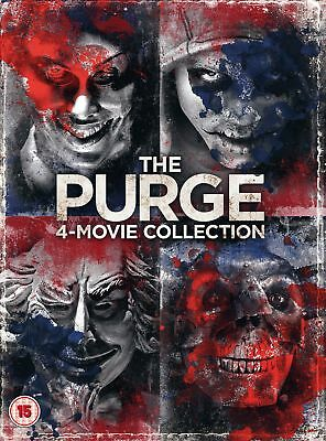 The Purge: 4-movie Collection (Box Set) [DVD] • 6.80£
