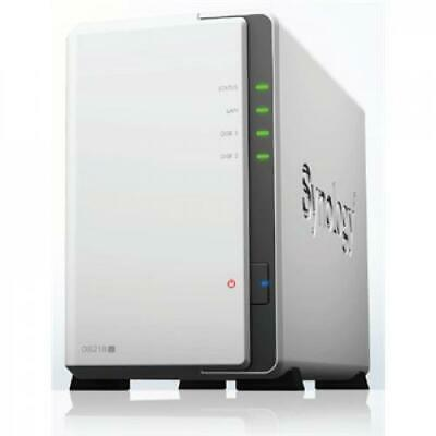 AU321.84 • Buy Synology DiskStation DS218j 2-Bay NAS Server, Marvell Armada 88F6820 Dual Core 1