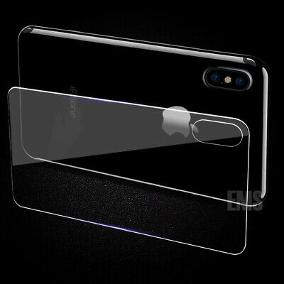 AU3.95 • Buy Back Rear Tempered Glass Screen Protector Apple IPhone X XS XS Max XR 7 8 Plus