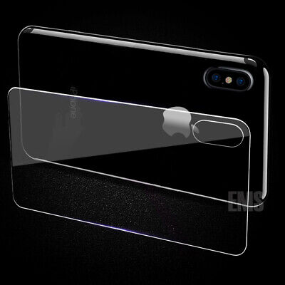 AU3.49 • Buy Back Rear Tempered Glass Screen Protector For Apple IPhone X XS Max XR 7 8 Plus