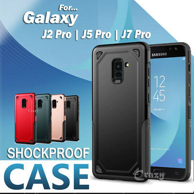 AU6.99 • Buy For Samsung Galaxy J2 Pro 2018 J5 J7 Pro Shockproof Heavy Duty Tough Case Cover