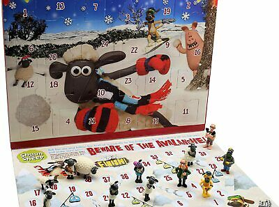 Shaun The Sheep Kids Advent Calendar Board Game Wallace & Gromit Christmas Gift • 12.45£