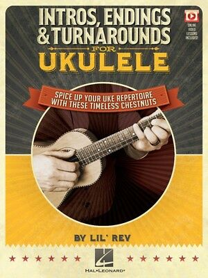 AU31.99 • Buy INTROS, ENDINGS & TURNAROUNDS For Ukulele Book & Online Video *NEW*