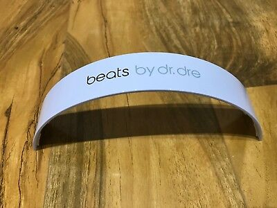 Top Headband For Beats By Dr Dre Studio 1.0 Headphones - White • 15.99£