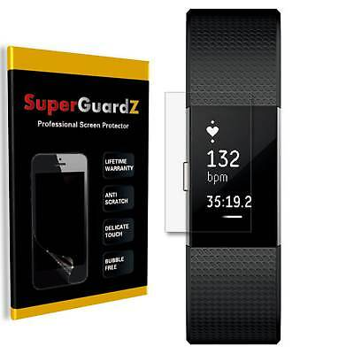 $ CDN8.63 • Buy 2-PACK SuperGuardZ Clear FULL COVER Screen Protector Film For Fitbit Charge 2