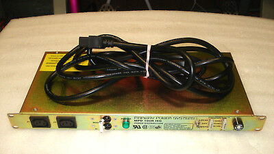 $ CDN125.32 • Buy MARWAY POWER SYSTEMS MPD 100RIEC POWER DISTRIBUTION UNIT W/ Cable (Tested)