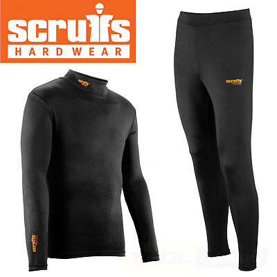 Scruffs Pro Base Layer Thermal Top Or Bottoms Baselayer Active Shirt / Trousers • 14.95£