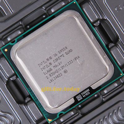 $ CDN31.52 • Buy Intel Core 2 Quad Q9550 SLAWQ 2.83GHz Quad-Core CPU Processor