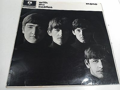 £100 • Buy With The Beatles 2nd Press MONO Excellent Vinyl LP Record PMC 1206