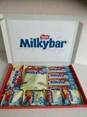 £12.50 • Buy Milky Bar Buttons White Chocolate Gift Box Baby Birthday Present FREE 1ST CLASS