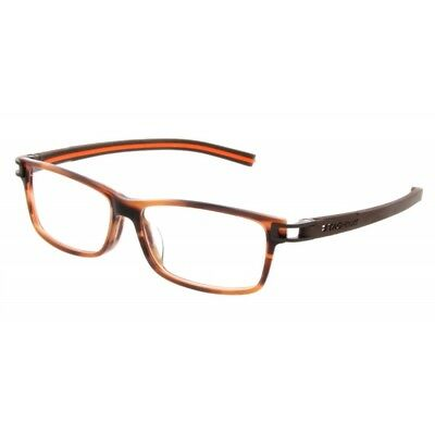 cf6087d98f874 Tag Heuer 7604 002 Havana Orange Authentic New Eyeglasses Frames Rxable  Track S • 164.00