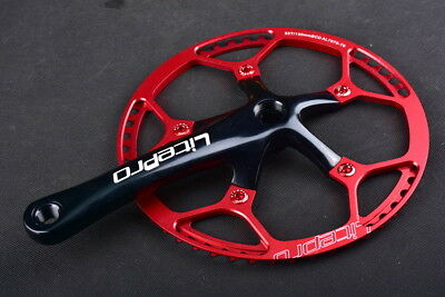 Mountain Road Bike Crankset 170mm BCD 130mm Chainring 45//47//53//56//58T Chain Ring