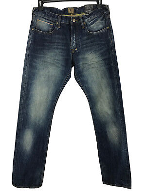 Prps Goods&co. Demon Yaw 1 Year Wash Distressed Bruised Slim Fit Jeans 30 33 X33 • 132.65£