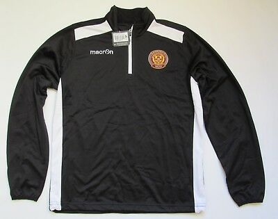MOTHERWELL FC Training 1/4 TOP Macron 2014-2015 NEW TAGS The Well Adult SIZE S • 41.65£