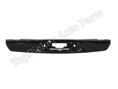 $215.97 • Buy Rear Bumper Face Bar Black For F150 Flareside Lightning Super Crew 1997-2003