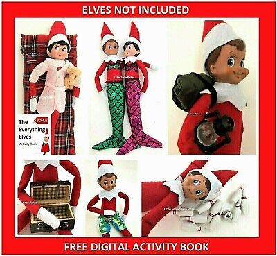 AU26.95 • Buy Elf Props & Accessories For On The Shelf Doll Display (FREE ACTIVITY PACK)