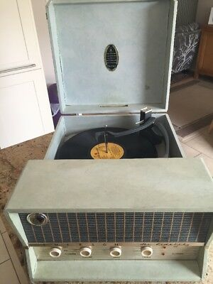 £40 • Buy Vintage Emerson HiFidelity Record Player-Fitted With Stereo Compatible Cartridge