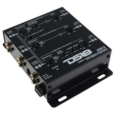 $ CDN97.63 • Buy DS18 XM3 3 Way Electronic Crossover With Dash Mount Remote 2 Or 3-way Xover