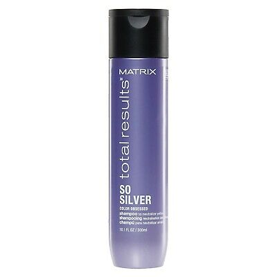 £9.99 • Buy Matrix Total Results Color Obsessed So Silver Purple Toning Shampoo 300ml