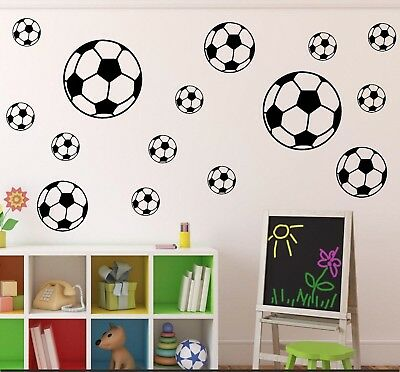 18-Football-Sport-Balls-Stickers-Children-Decals-for-Wall Child Room Decoration • 4.05£