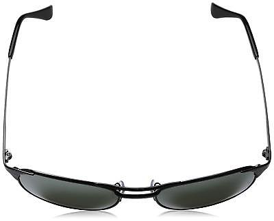 81bb0259df Ray-Ban RB3429M 002 40 Signet Black Frame Silver Mirror 55mm Lens Sunglasses  •