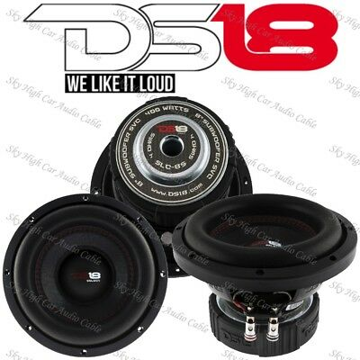 AU79.93 • Buy DS18 SLC 8S 8  Inch Subwoofer 400 Watts Max Power 4 Ohm Sub Select Series