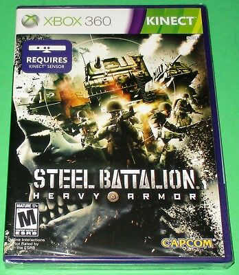 £5.63 • Buy Steel Battalion: Heavy Armor Xbox 360 Kinect *New! *Sealed! *Free Shipping!
