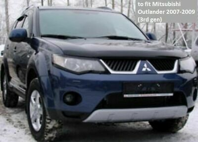 AU161.10 • Buy Premium Quality Bonnet Protector Tinted Glass For Mitsubishi Outlander 2007-2009
