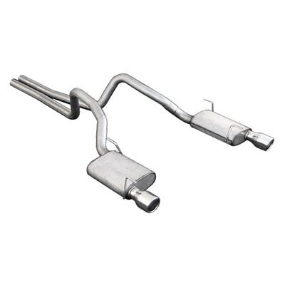 $425.68 • Buy For Ford Mustang 05-10 Pypes 409 SS Cat-Back Exhaust System W Split Rear Exit
