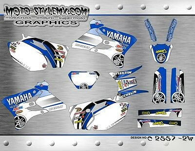 $139.90 • Buy Yamaha WR250f WR450f 2003 2004 Graphics Decals Kit Moto StyleMX