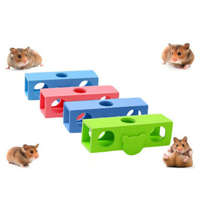 £4.04 • Buy Animal Playground Exercise Toy Wooden Seesaw Small Pet Hideout Mouse Hamster Z