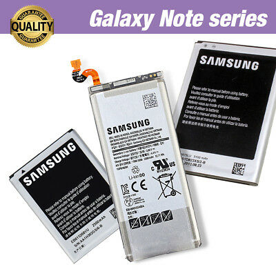 AU13.95 • Buy New Genuine Original Battery Replacement For Samsung Galaxy Note 9 8 5 4 3 2 NFC
