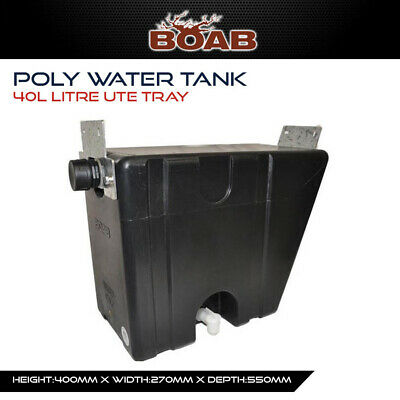 AU159.99 • Buy Poly Water Tank 40 Lt Ute Tray Utility 4X4 4WD Offroad Camping Touring