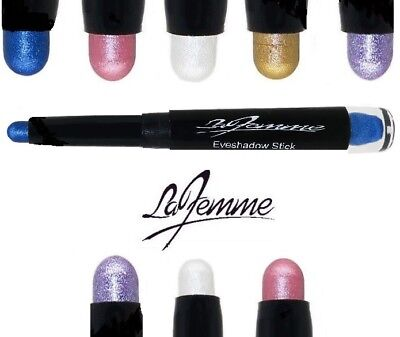 Cream Eyeshadow Crayon Shimmering Pastel Shades From La Femme White Lilac Pink  • 2.98£