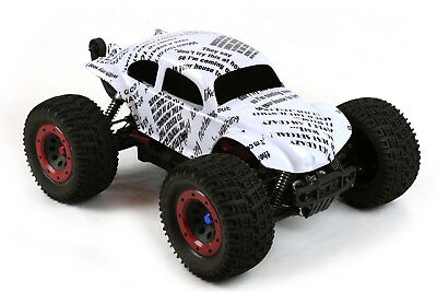 Custom Buggy Body Funny Sayings For 1/8 RC Truck Thunder Tiger MT4 G3 HPI Savage • 21.44£