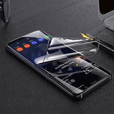 AU3.99 • Buy HYDROGEL Full Coverage Screen Protector For Samsung Galaxy A8 J8 2018 J2 Pro