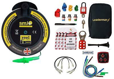 50m R2 Earth Test Lead, LOEK-1 Lockout Kit, Jump Leads,Test Lead Set | KIT8A  • 97.50£