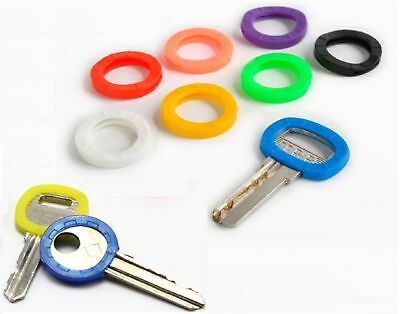 £2.29 • Buy Key Top Covers Head Caps Rubber Id Mixed Colour Key Toppers