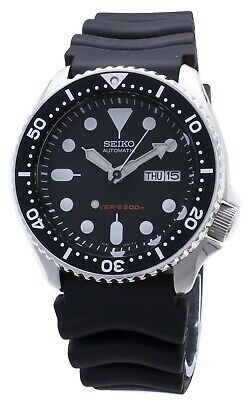 $ CDN397.37 • Buy Seiko Automatic Diver SKX007 SKX007K1 SKX007K Rubber Band 200M Mens Watch