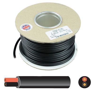 AU13.38 • Buy 2 Core Round Thin Wall Automotive Auto Cable Wire 12V 24V - 0.5mm To 2mm