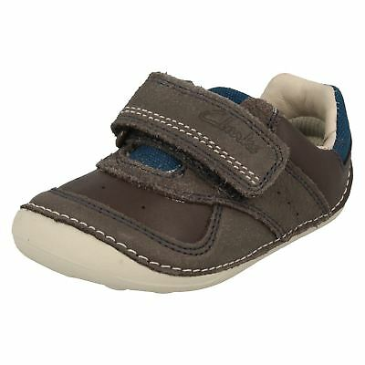 Boys Clarks First Cruiser Shoes 'Tiny Tay' • 26£