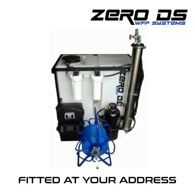 Water Fed Pole System, Full RO 250lt'Fitted At Your Address' 2 Man • 1£