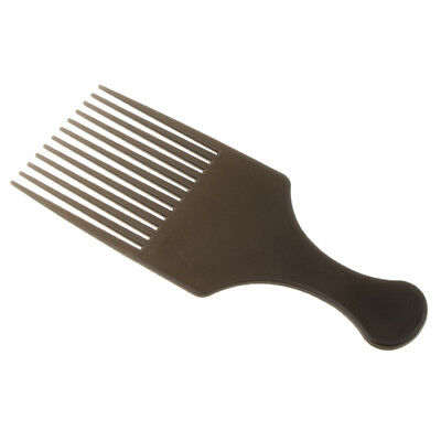 £3.47 • Buy Handheld Afro Hair Pick Lift Comb Wide Teeth Curly Hairdressing Styling Comb