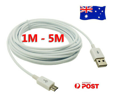 AU6.60 • Buy 5M Micro USB Charging Charger Data Cable Adapter Cord For Android Samsung Huawei